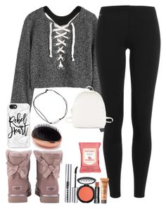 """""""casual"""" by kamdanielson on Polyvore featuring UGG, Burt's Bees, Miss Selfridge, Casetify, Polo Ralph Lauren, LORAC and Steve Madden"""