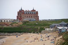 The Headland Hotel and Fistral Beach Surf Centre, Newquay