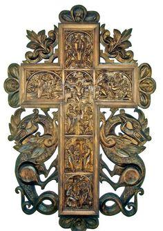 Carved cross -- by Plamen Dinkov