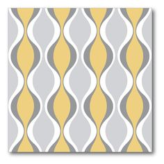 Have to have it. Gray Hourglass Canvas Wall Art - 16W x 16H in. - $40 @hayneedle