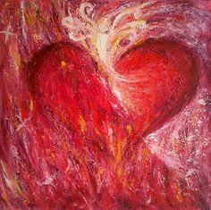 beautiful heart art