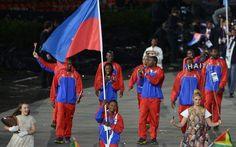 Haiti Team Volleyball Players, Tennis Players, Basketball Players, Haiti Soccer, Triple Jump, Polo Team, Olympics, Guys, Swimmers