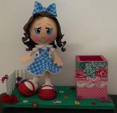 Muñecas Tania: Cajas decoradas