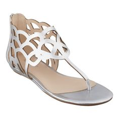 """Our Wildchild caged gladiator sandals are definitely trend-right and season-savvy. Back zip for easy on/off. Padded footbed for all-day comfort. Leather or synthetic upper; mouse over color choice for upper information. Man-made lining and sole. Imported. 1/4"""" heels."""