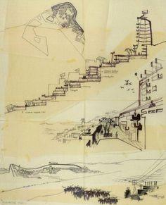 """Erskine diseñó la llamada por él mismo """"gramática arquitectónica para altas latitudes"""" que"""
