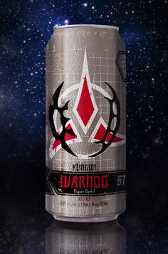 I'm not a drinker, but I might take a few sips of this!  -  Klingon beer is 100 percent real!