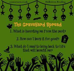 The Graveyard Spread #tarotspread #tarot #divination