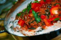 Mouthwatering Spinach Lentil Tandoori Masala