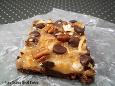 Love Bakes Good Cakes: Better Than Samoas Bars