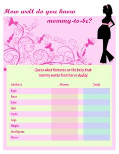Free printable baby shower games free printable budget worksheets
