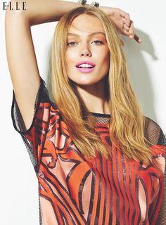 Frida Gustavsson for Elle Canada | Photographer: Max Abadian | Beauty: Vanessa Craft // #editorials