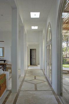 cemento alisado - Buscar con Google Casa Patio, Magic House, Casa Clean, Rural House, Charming House, Tadelakt, Beach House Decor, Home Decor, Living Room Flooring