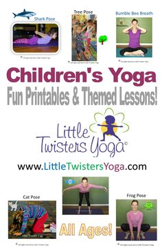 Find tons of tips for introducing young kids to yoga, along with fun printables and at-home yoga sequences.