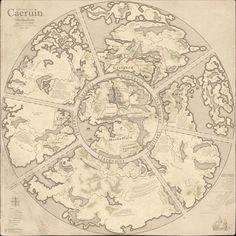 Worldmap of Caeruin 5 by Quabbe.deviantart.com on @deviantART
