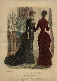 ДневныеLe Salon de la Mode 1882