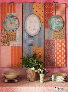 Dishfunctional Designs: Banish Winter Blues (& Whites!) With Colorful Bohemian Brights