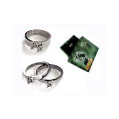 Naruto rings leaf village rings anime rings set T1 - Naruto - Cosplay... ❤ liked on Polyvore featuring jewelry, rings, naruto, accessories, ninja, leaves ring, animal rings, leaf jewelry, animal jewelry and leaf ring