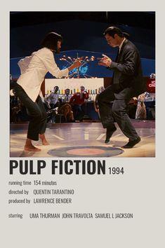 Iconic Movie Posters, Minimal Movie Posters, Cinema Posters, Iconic Movies, Good Movies, Fiction Movies, Pulp Fiction, Drama Movies, Poster Minimalista
