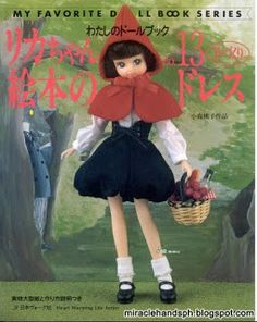 Miracle hands: Free japanese craftbook: My Favorite Doll Book ser...