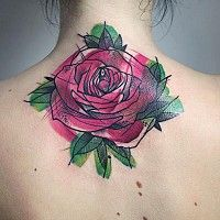 This tattoo artist's work is totally stunning... beautiful style