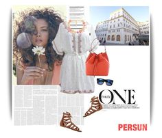 """Persun"" by elly-852 ❤ liked on Polyvore featuring Arche, Tory Burch and O'Neill"