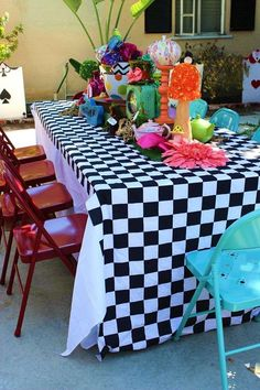 Alice in Wonderland Birthday Party Ideas | Photo 4 of 12 | Catch My Party