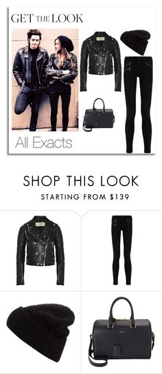 """""""Eleanor Calder on IG 3\19\2015"""" by lifeisworthlivingagain ❤ liked on Polyvore featuring Burberry, rag & bone/JEAN, Acne Studios and Yves Saint Laurent"""