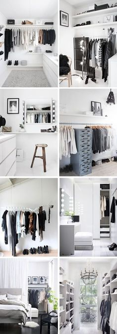 14 Walk In Closet Designs For Luxury Homes Young Room – home accessories Closet Bedroom, Bedroom Decor, Wardrobe Closet, Bedroom Ideas, Bedroom Bed, Bedroom Black, Diy Clothes Closet, Diy Walk In Closet, Bedrooms