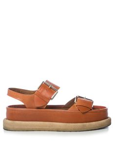 Submerge faux-leather flatform sandals | Stella McCartney | MATCHESFASHION.COM