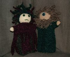 Two fearsome creatures from Greek myth Glove Puppets, Cyclops, Medusa, Gloves, Greek, Creatures, Thoughts, Halloween, Pattern