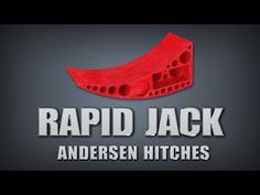 Amazing Rapid Jack from Andersen Hitches. Great idea.  Won't work on my pop-up tho.