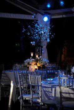 lights for evening reception