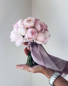 Looking for bouquet inspiration for your wedding day? Browse through this breathtaking selection of bridal bouquets to find the perfect one for you. Bridal Bouquet Pink, Blush Bouquet, Peonies Bouquet, Bride Bouquets, Bridal Flowers, Flower Bouquet Wedding, Pink Peonies, Bridesmaid Bouquet, Peonies Wedding Bouquets