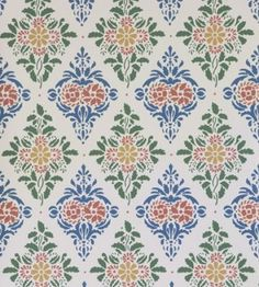 Our new kitchen wallpaper! Stencils Wall, Doll House Wallpaper, Wallpaper Samples, Kitchen Wallpaper, Vintage Floral Pattern, Old Wallpaper, Soothing Colors, Scandinavian Wallpaper, Prints