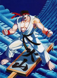 Gamekyo : Blog : Artworks Promo pour Street Fighter II