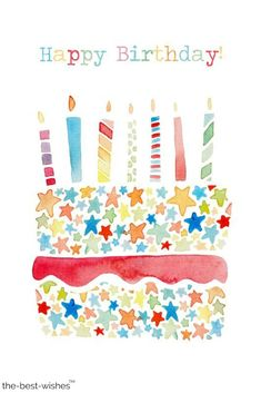 Looking for birthday wishes? For you, we have collected the best happy birthday wishes for your loved ones to help you with filling in your birthday card. Happy Birthday Pictures, Happy Birthday Quotes, Happy Birthday Greetings, Birthday Messages, Birthday Greeting Cards, Birthday Posts, Birthday Love, Vintage Birthday, Cartoon Birthday Cake