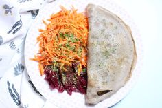 Crêpes de Sarrasin aux Légumes