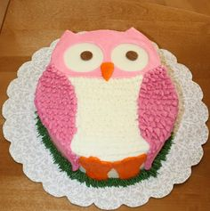 Party Cakes: Owl Cake
