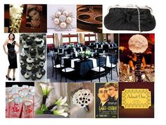 1930's INSPIRED WEDDING RECEPTIONS | Planning our Theater Wedding