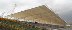 tent structures architecture | Textile Architecture