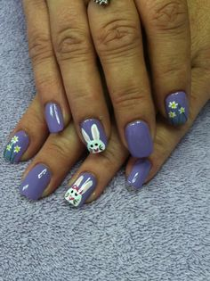 Easter Nail Art Rate It: 1-10 1 - I don't like it, I would NEVER do it! 10 - I just love it, I would TOTALLY do it! Tell us WHY you commented with your number!