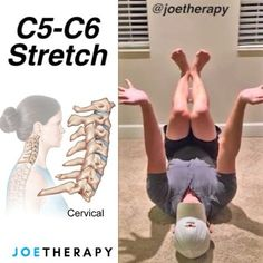 """1,323 Likes, 30 Comments - Joe Yoon, LMT (@joetherapy) on Instagram: """"C5-C6 Spinal Decompression Stretch [ELDOA] - If you need a little refresher on what ELDOA is take a…"""""""