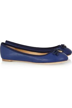 Chelsea Leather Flats / Tory Burch