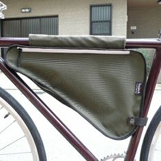 EveryWare(エブリウェア)BICYCLE FRAME BAG olive