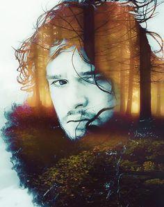 John Snow, Game of Thrones---- hubba hubba