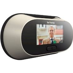 Electronic PeepHole Viewer!  I need this when I have a house some day! (I am too short for peepholes!)