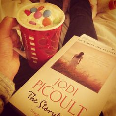 #100happydays day 2! A good book and lovely hot chocolate! #jodipicoult #thestoryteller