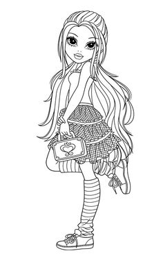 trendy drawing ideas for teens adult coloring pages Coloring Pages For Girls, Coloring Book Pages, Coloring For Kids, Printable Coloring Pages, Online Coloring, Copics, Digital Stamps, Colorful Pictures, Zentangle