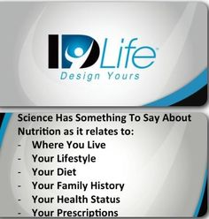 Join IDLife 365 and see how IDLife can CHANGE your life! Visit our website HERE: www.idlifeoffice.com/365