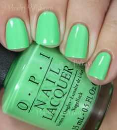 """OPI """"You Are So Outta Lime!"""" 